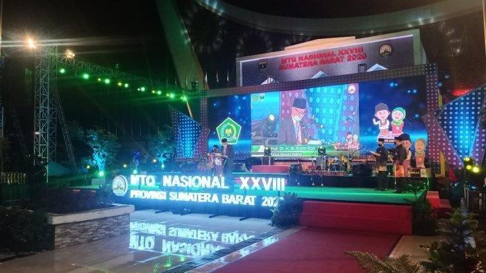 Daftar Pemenang MTQ Nasional 2020 di Padang Sumbar , Alhamdulillah ! Ada Nama Qori & Qoriah Kalbar