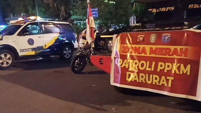 PPKM Darurat Pontianak-Singkawang Mulai Hari Ini, Polisi Lakukan Penyekatan Jalan 24 Jam
