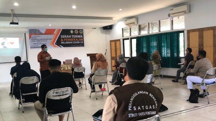 Usai Diseleksi Stikes Yarsi Pontianak, 10 Relawan Covid-19 Siap Bertugas