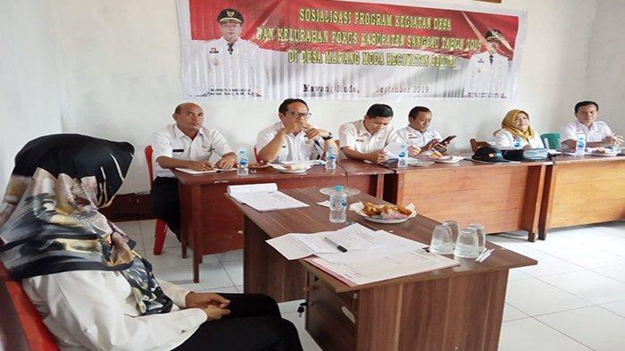 Pemkab Sanggau Fokus Implementasi Program Desa Tahun 2019 di Desa Mawang Muda