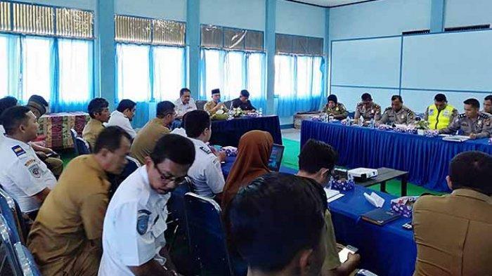 Bupati Atbah Pimpin Rapat Forum Lalulintas Angkutan Jalan 2019