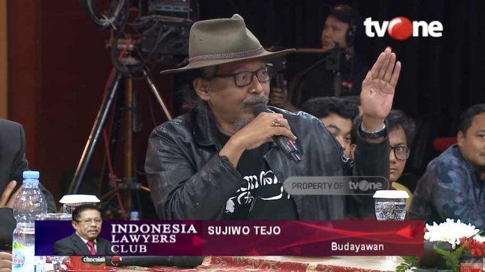 Kasus OTT Wahyu Setiawan, Sujiwo Tejo Kecewa KPK Lemah : 'Pejabat Dewan Pengawas KPK Mundur Saja'