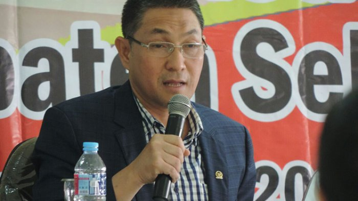 Ditetapkan Tersangka, Anggota DPR RI Dapil Kalbar Sukiman Ungkap Hal Ini dan Mohon Didoakan