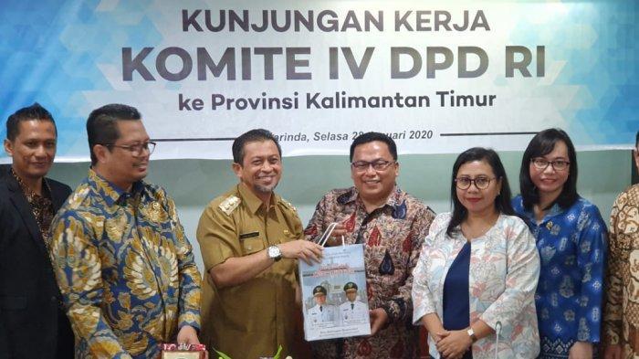 Komite IV DPD RI ke Kaltim, Inventarisasi Masalah Penyusunan RUU Investasi dan Penanaman Modal