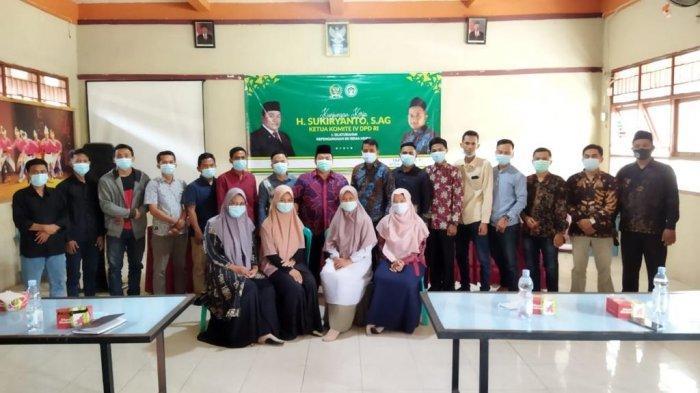 Kunker Ketua Komite IV DPD RI Sukiryanto Sekaligus Silaturahmi Pengurus BK Rema Muda