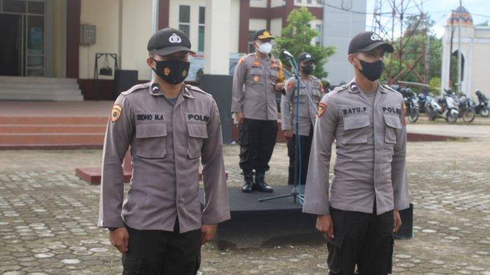 Pimpin Apel Pagi, Ini Arahan Kapolres Kayong Utara AKBP Bambang Sukmo Wibowo