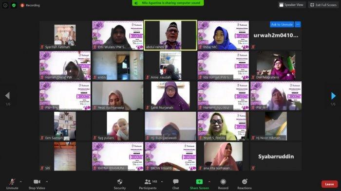 Ratusan Peserta Se-Indonesia Ramaikan Webinar Parenting Salimah Kalbar