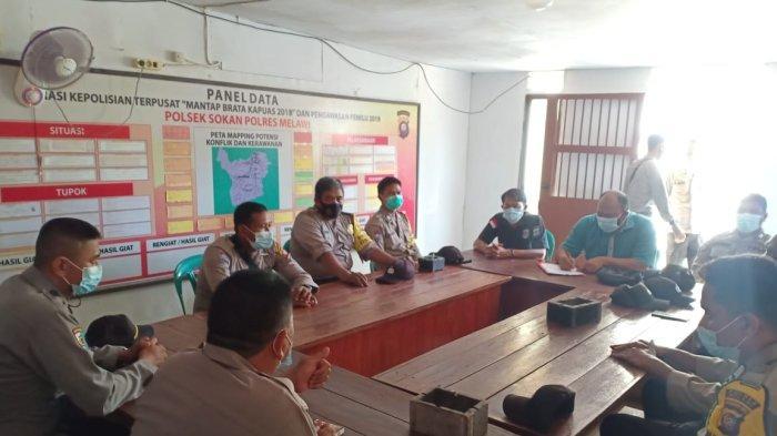 Tim Supervisi Polres Melawi Lakukan Pengawasan di Polsek Sokan, Periksa Anggaran dan Pelaporan