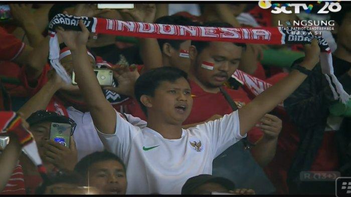 LIVE STREAMING SCTV Indonesia Vs Hongkong: Sepakbola Asian Games 2018, Laga Sedang Berlangsung!