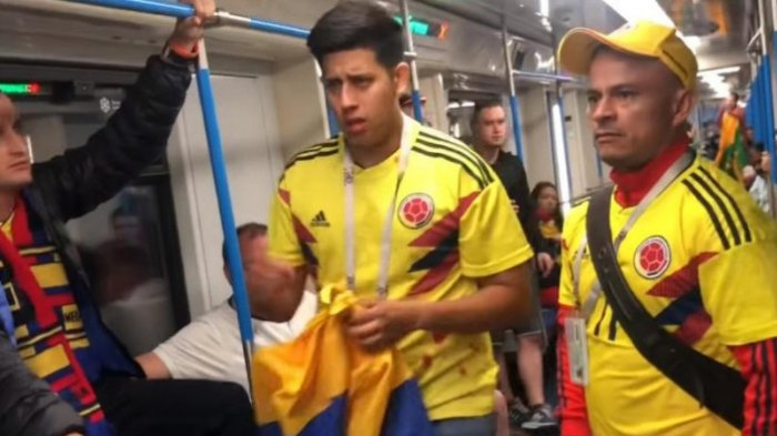 Bikin Miris, Perkelahian Suporter Timnas Inggris dan Kolombia Memakan Korban