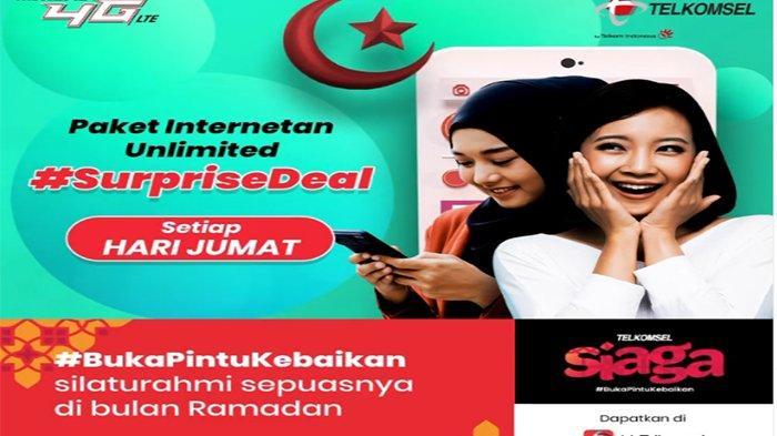 Arti FUP Telkomsel & Cara Daftar Surprise Deal Unlimited FUP 50 GB Khusus Surprise Deal Jumat Berkah