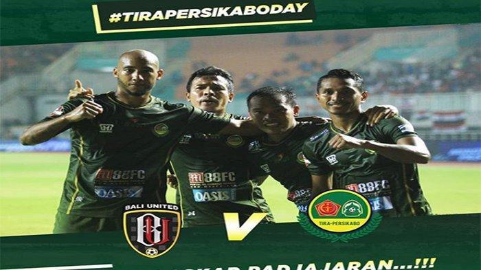 Susunan Pemain Bali United Vs Tira Persikabo Liga 1, Stefano Lilipaly Cedera Diganti Irfan Bachdim?