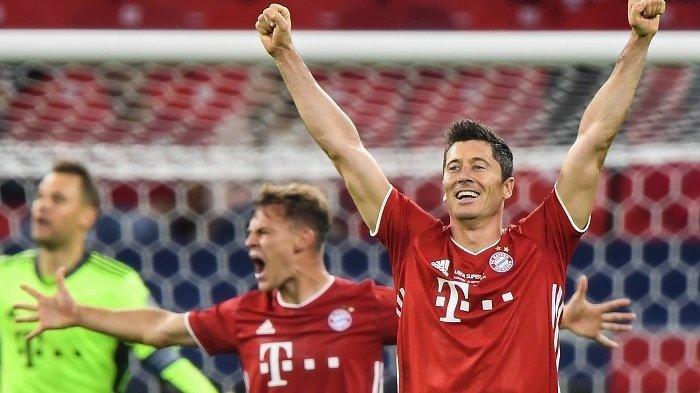 Susunan Pemain Bayern Munchen Vs Lazio di Liga Champions Malam Ini, Adu Tajam Immobile atau Lewi ?