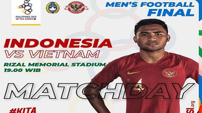 Susunan Pemain Timnas U 23 Indonesia vs Vietnam Final SEA Games, Osvaldo Haay Siap Tebar Teror Gol