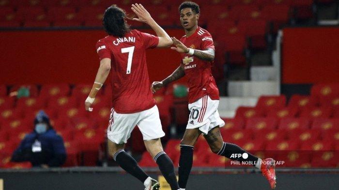 Susunan Pemain Manchester United Kontra Tottenham di Liga Inggris Malam Ini, Adu Tajam Cavani - Kane