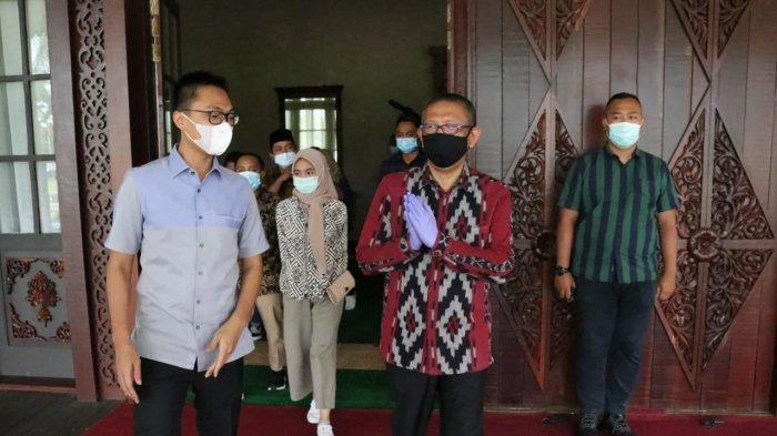 Gubernur Kalbar Sutarmidji Sampaikan Poin Penting Ini Kepada Stafsus Milenial Presiden