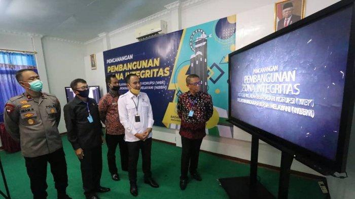 Gubernur Sutarmidji Dukung BPS Kalbar dalam Program Pencanangan Pembangunan Zona Integritas
