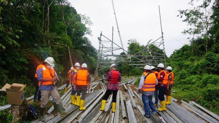 PLN Pastikan Jalur Transmisi SUTT Sanggau-Sekadau-Sintang Akan Tuntas Tahun Ini