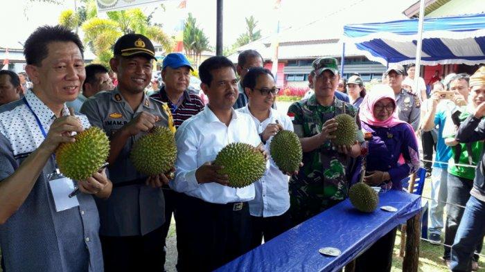 Terkait Kontes Durian Unggul di Sekayam, Hero: Hutan Seluruh Kalbar ada Varitas Durian