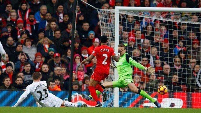 Swansea Tumbangkan Liverpool di Anfield