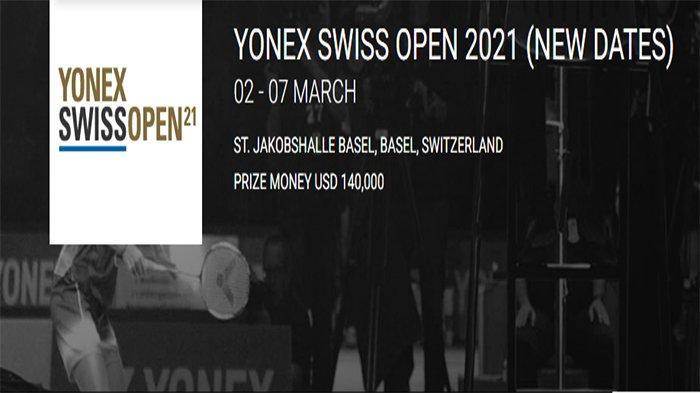 JADWAL LIVE Perempat Final Badminton Swiss Open 2021 Jumat 5 Maret - Rhustavito Vs Viktor Axelsen