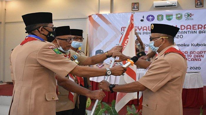 Sy Abdullah Alkadrie Terpilih Aklamasi Pimpin Kwartir Daerah Pramuka Kalbar
