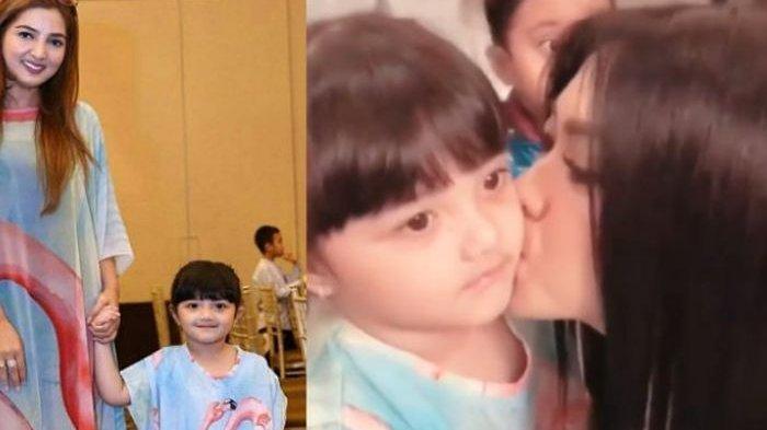 Dicium Syahrini, Ekspresi Putri Anang Hermansyah Bikin Gagal Fokus