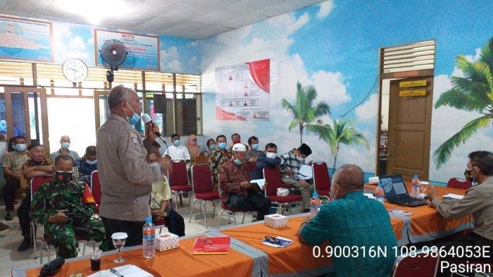 Cegah Penyebaran Covid-19, Kelurahan Pasiran Gelar Sosialisasi Prokes 5M dan 3T kepada Warga