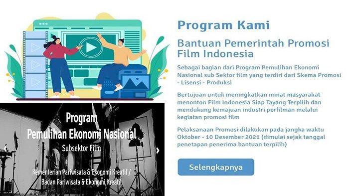 Syarat Dapat Bantuan Rp 1,5 Miliar untuk Promosi Film Indonesia