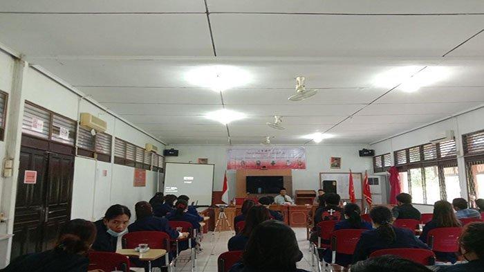 Taati Protokol Kesehatan IMKA PIJAR Fakultas Hukum UNTAN Adakan Seminar