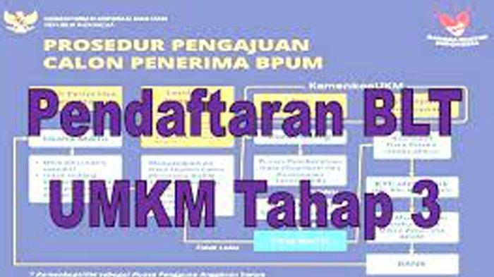 Tahap 3 UMKM Login www.depkop.go.id Daftar UMKM BRI Tahap 3 Klik eform.bri.co.id/bpum