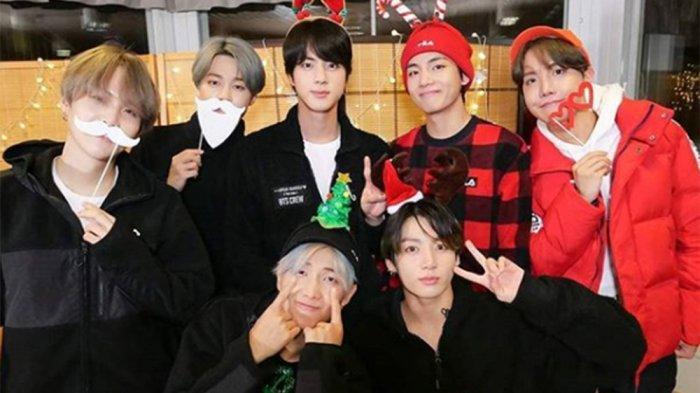 Member BTS Sapu Bersih Ranking Teratas Anggota Boyband KPop Populer Bulan Ini, Jimin Eksis di Puncak
