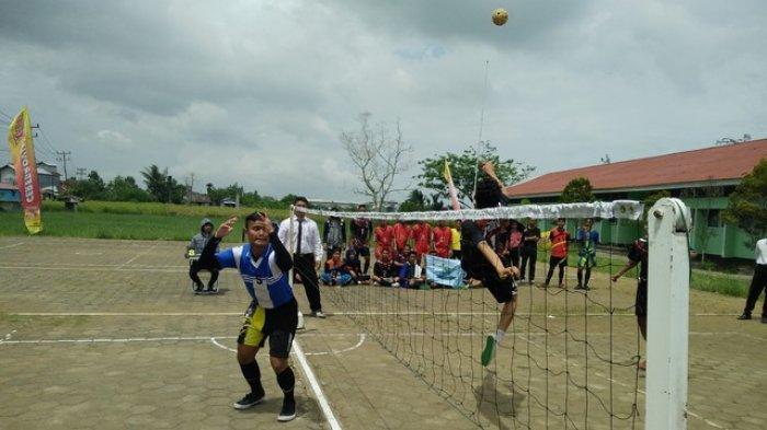 Pelajar Sungai Kunyit, Mempawah Dominasi Kejuaraan Takraw Penjaskes FKIP Untan