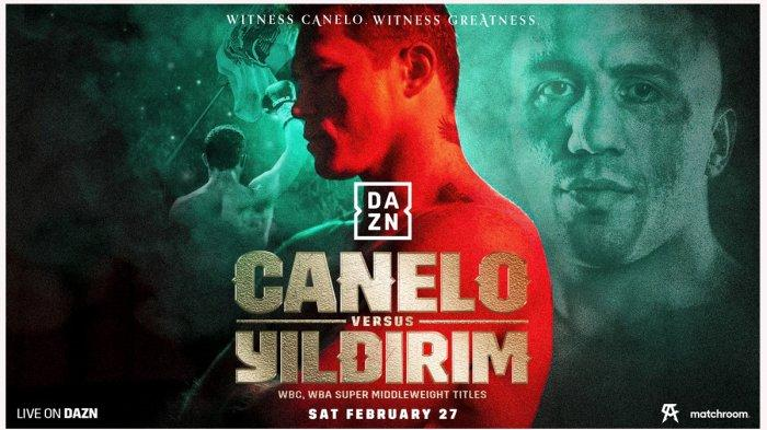 Head to Head Saul Canelo Alvarez vs Avni Yildirim, Duel Raja Tinju Dunia Kelas Menengah Super