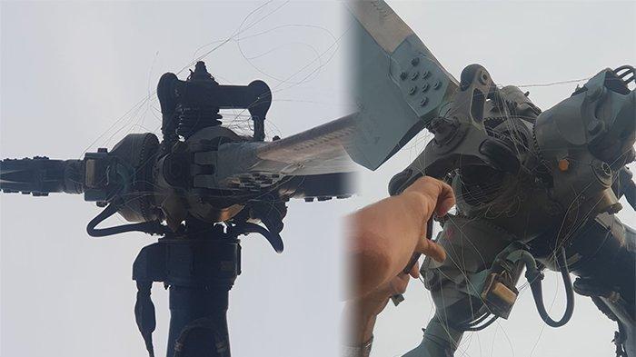 BREAKING NEWS - Tali Layangan Lilit Helikopter Padamkan Api Kebakaran Lahan Kalbar, Ini yang Terjadi