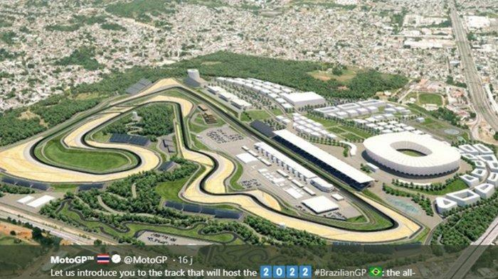 Sirkuit MotoGP Brasil Diduga Dibangun di Atas Ladang Ranjau