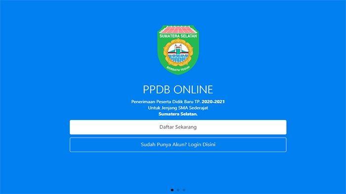 Info PPDB Sumsel 2020, Daftar di Link Ppdbsumsel.id Berikut Ini