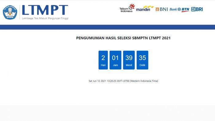 Cek Pengumuman SBMPTN 2021 Untan Pontianak di sbmptn.untan.ac.id dan pengumuman-sbmptn.ltmpt.ac.id