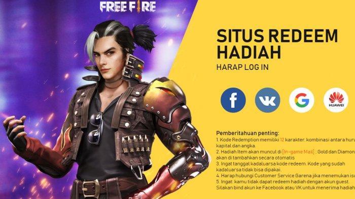 Kode Redeem FF 26 Januari 2021, Dapatkan Diamond dan Skin Terbaru Free Fire dari Garena