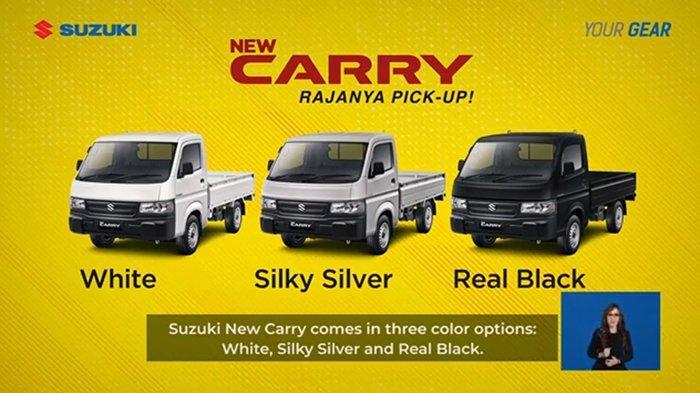 Tampilan Segar Suzuki New Carry Pick Up 2021, Ini Harga OTR-nya