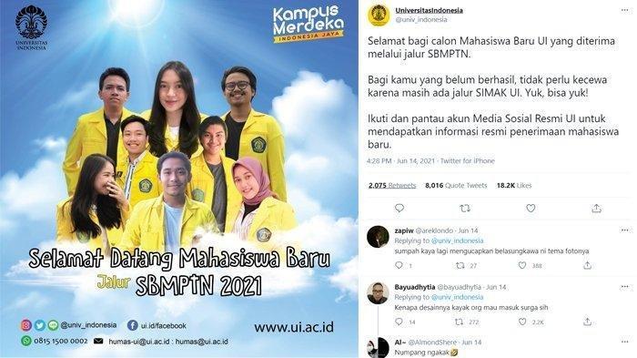 Poster UI yang Viral Mirip Poster Sinetron ! Netizen Heboh, Penjelasan Pihak Universitas Indonesia ?