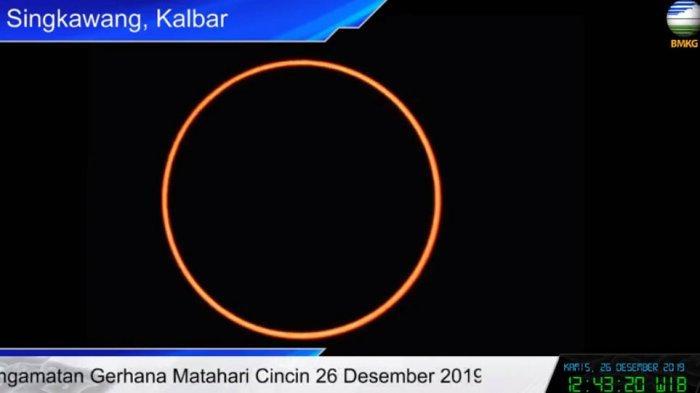 Puncak Gerhana Matahari Cincin 2021 Jam Berapa? Bisa Dilihat di Indonesia Lewat Streaming Youtube
