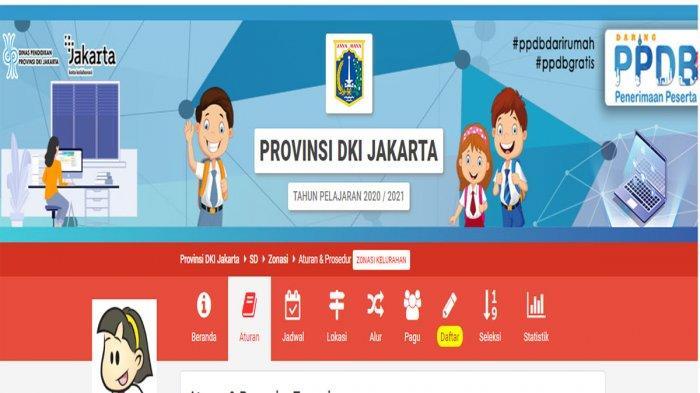 Akses Ppdb.jakarta.go.id Daftar PPDB Jakarta SMP 2020 Jalur Zonasi Dibuka Hari Ini, Cara Buat PIN ?