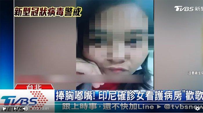 VIRAL Postingan WNI Terjangkit Virus Corona Main Tik Tok di Rumah Sakit Taiwan