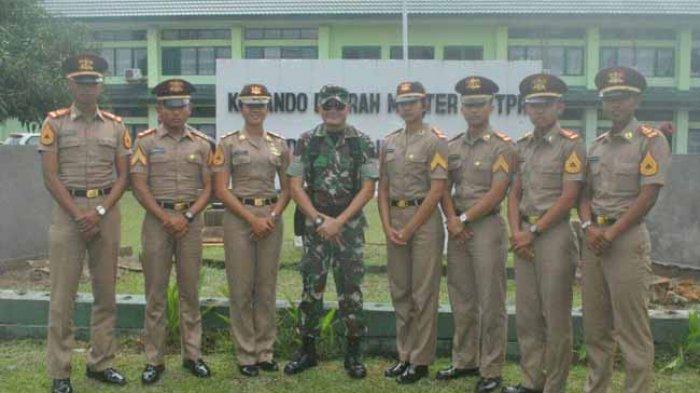 Taruna Akademi TNI Putra Kalbar Kunjungi Kodim 1207/BS Pontianak