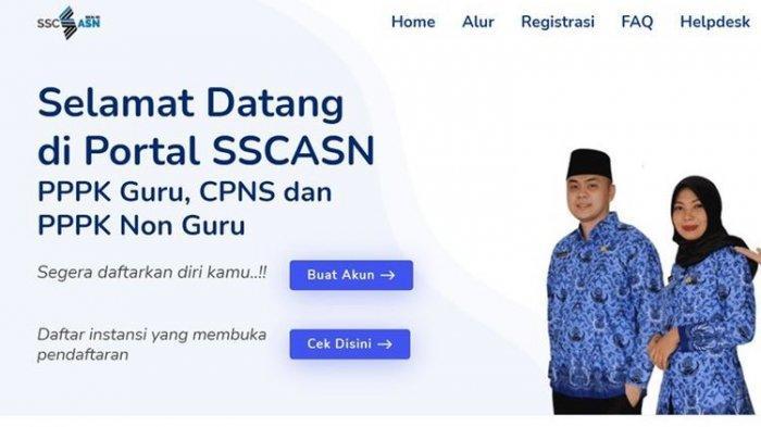 TATA Cara Daftar CPNS Kalbar 2021, https: //sscasn .bkn .go.id Login Daftar Segera