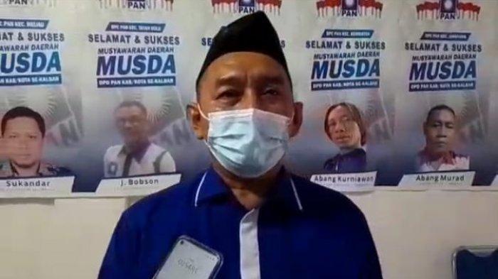 Taufik Hidayatullah Jabat Ketua DPD PAN Sanggau, Ini Target Kedepan