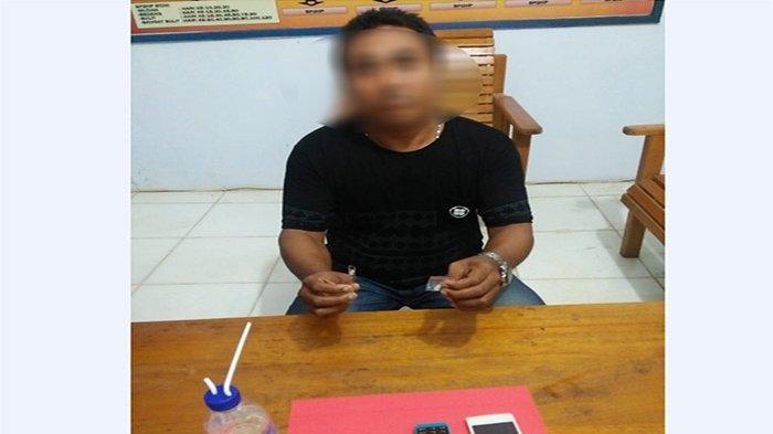BREAKING NEWS - Kedapatan Membawa Sabu, Oknum Kepala Desa di Ketapang Diamankan Polisi
