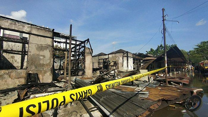 Asrama Polisi Jalan Subarkah Pontianak Terbakar, Berikut Penjelasan Kapolresta Leo Joko Triwibowo