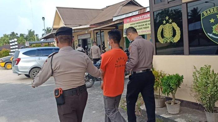 Hendak Curi Motor di Masjid, Warga Pontianak Ditangkap Personel Polsek Tebas